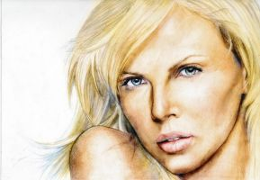 Charlize Theron color 2 by YannWeaponX
