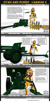 MMD Guns+Poses - Contemporary Cannons by Trackdancer