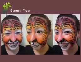 Sunset Tiger by Warshield22