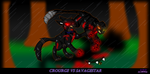 :Crourge vs Savagestar: by MVFox