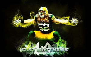 Clay Matthews Wallpaper by Subliminal515