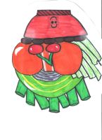Fruit Bowl - Topsy Turvey by Toad-x-Yoshi-x-Peach