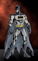 The Dark Knight - colored v. 2 by phil-cho