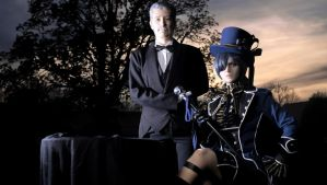 CIEL PHANTOMHIVE - Cosplay - Old Butler Tanaka by Shinkan-Seto