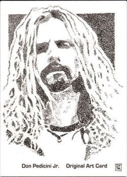 Rob Zombie sketch card by stippleartist