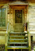 Country doorway by harrietsfriend