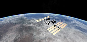 ISS Over South Africa by Eagle1Division