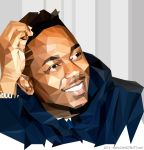 Kendrick Lamar - Vector Low-Poly by chadtrutt