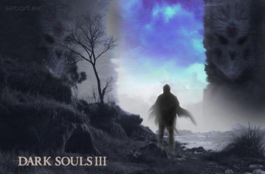 Dark Souls 3 X by sebartex