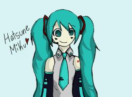 Miku by Shibbums