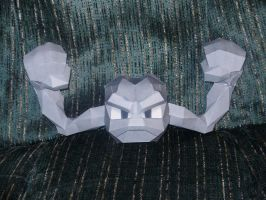 Geodude Papercraft by Skeleman