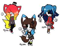 .:Lite Sonic Adoptables:. by Sky-Yoshi