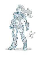 Iron-lady by spofe25