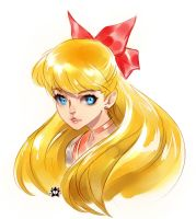 Sailor Venus Portrait by E-X-P-I-E