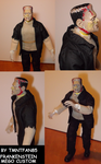Frankenstein Mego Custom by TMNTFAN85