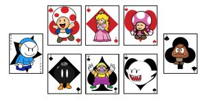 Mario Cards Preview by Ashen7