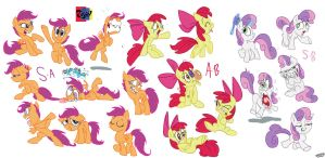 Expressions crazier then horses by Jowybean