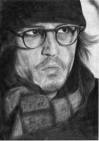 Johnny Depp in Secret Window by DonieQ