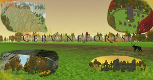 Feral Heart Map - Cervine Forest (PUBLIC) by Marzi66