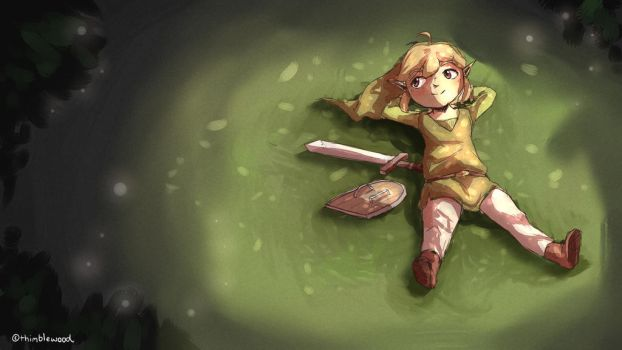 Toon Link Redraw by thimblewood
