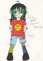 Nicky Nagumo- Age 6 by DudettRin101