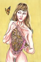 Butterfly Girl by threefirsts