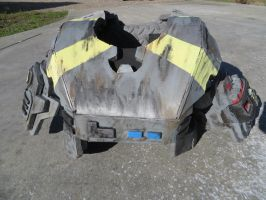 Halo armor chest (front) by KevlarKatana