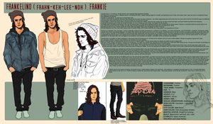 Frankie Reference sheet by TranslucentRainbow