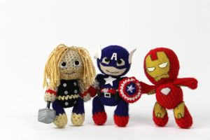 Avengers U-Knitted by WindQueen