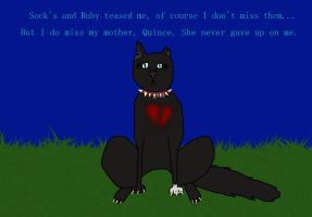 Scourge- My mother never gave up on me.. by SpindleTheBraveKit