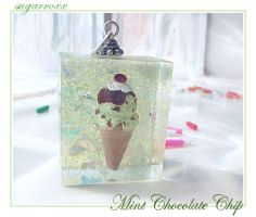 Mint Chocolate Chip Cubie by SugarRoxx