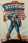 Captain America Sketch Cover Colors by SaviorsSon