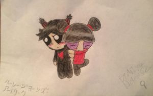 Garu and Pucca by ArtistDetective
