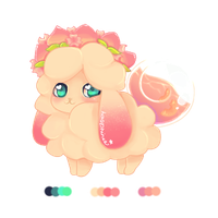 Peachy Blossoms [ Fluffer Adopt Auction ] CLOSED by pashielle