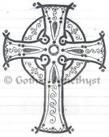 Celtic Cross by GothicAmethyst