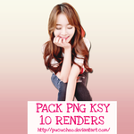 Pack PNG Kim Shin Yeong by Pucucheo