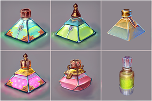 Potion pack by Keleus