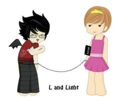 L and Light by redthemusiclvr15