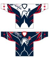 Capitals Ovechkin third jersey by poopDC