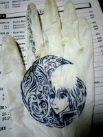 Glove Doodle by Cursed-9-11