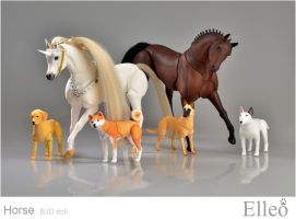 Horse bjd doll 05 by leo3dmodels