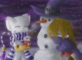 The Snowman by MooFrog44