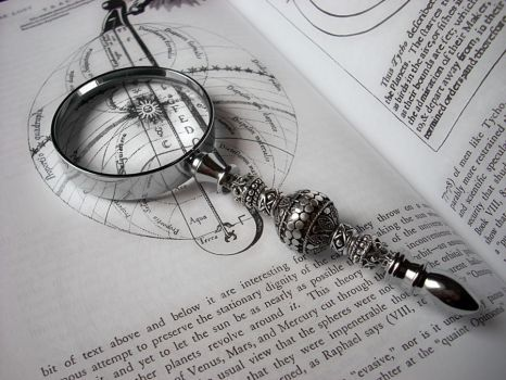 Ornate Magnifying Glass by Aranwen