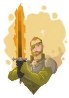 Beric Dondarrion by pumpkinbear
