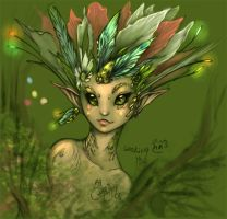 wip fairy is looking you by driany