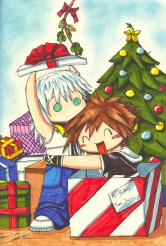 All I want for Christmas... by Chinese-Shinigami