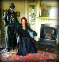 Lord and Lady Plague Doctor by Estruda