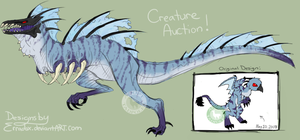 Redesigned Character Auction [CLOSED] by Adoptadpoles