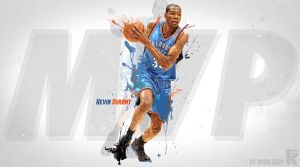 Kevin Durant MVP by RGray525