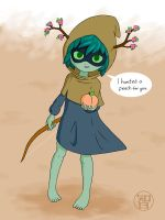 Huntress Acolyte hunted you a peach by Kairu-Hakubi
